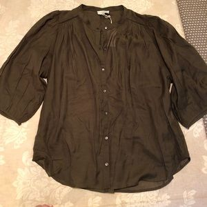 Lucky brand Olive Blouse